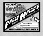 Original All purpose Fatty Matty's Homebrew Label